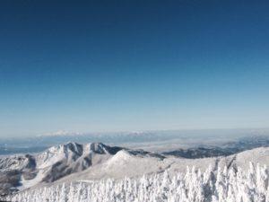山形県蔵王の樹氷