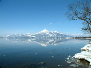 福島県の会津磐梯山