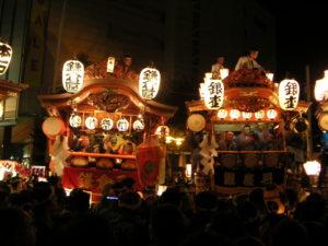 埼玉県熊谷市のうちわ祭