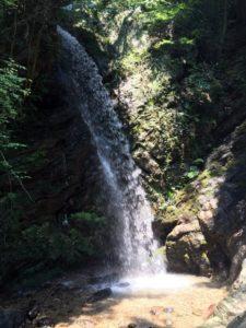 埼玉県入間郡越生町黒山三滝の滝壺