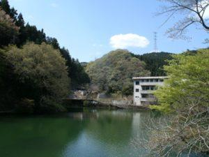 埼玉県入間郡毛呂山町の湖