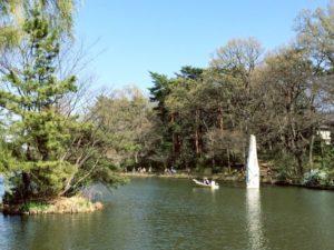 東京都練馬区の石神井池