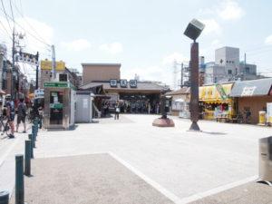 葛飾区の柴又駅
