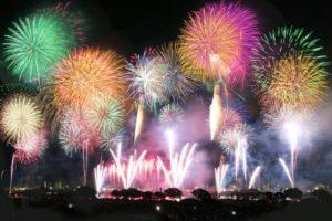 東京都足立区荒川の花火大会