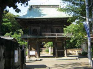 国分寺市の国分寺楼門