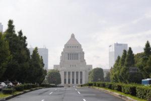 千代田区の国会議事堂