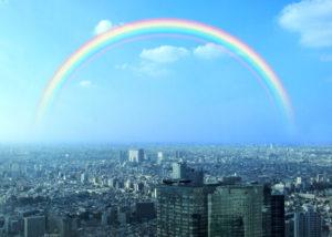東京都東大和市・虹