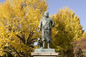 台東区上野公園の西郷隆盛像