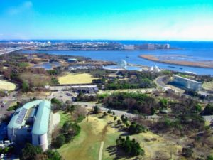 江戸川区葛西臨海公園の風景