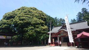 真岡市の大前神社