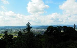 佐野市の唐沢山からの風景