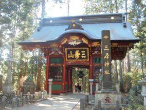 秩父市の三峯神社