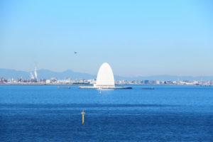 木更津市海ほたるの風景