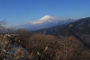 山北町 大野山より富士山
