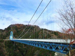 常陸太田市の竜神大吊橋