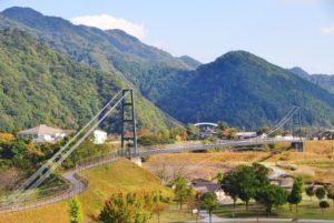 愛川町の橋の風景