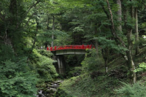 高崎市の榛名神社参道