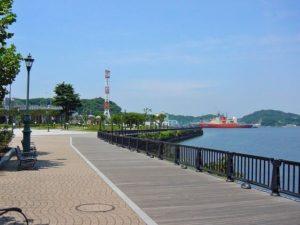 横須賀市のヴェルニー公園