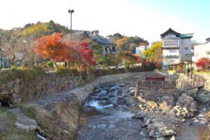 伊豆市の修善寺温泉