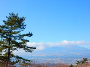 小山町から見る富士山
