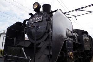 島田市の大井川鉄道のSL