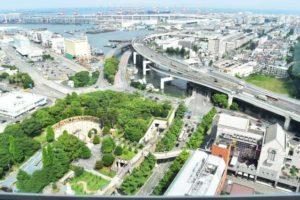 横浜市中区の風景