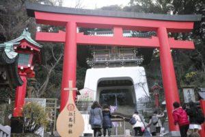 藤沢市の江島神社