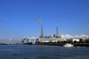 横浜市磯子区の火力発電所
