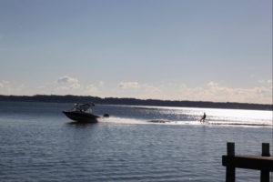 湖西市から見る浜名湖