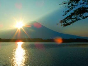 富士宮市田貫湖からの富士山