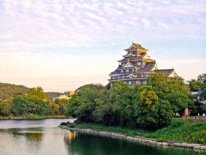 岡山県の岡山城
