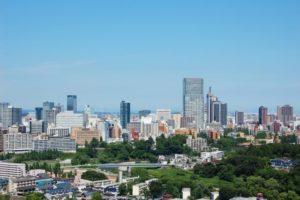 仙台市の街並み
