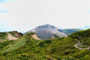 那須町の茶臼岳