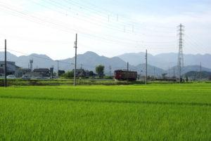 関市を走る長良川鉄道