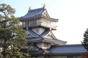 日進市の岩崎城