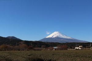 裾野市から見た富士山