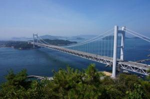 岡山県瀬戸大橋の絶景