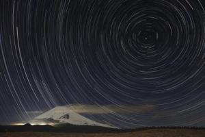 裾野市からの富士山夜景