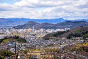 福島市の花見山公園