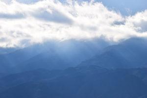 南アルプス市の山々