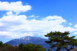 中津川市恵那山の風景
