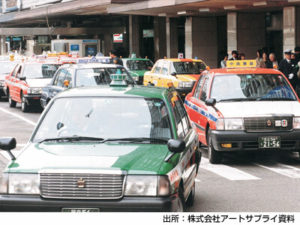 LPG車タクシー