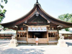 稲沢市の尾張大国霊神社