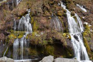 北杜市吐竜の滝
