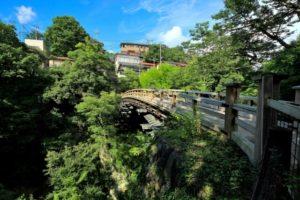 大月市の猿橋