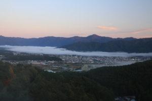 富士吉田市の風景