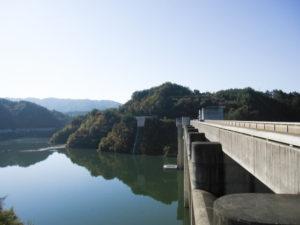 瑞浪市の小里川ダム