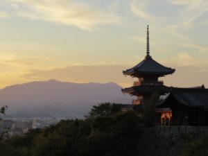 京都府の五重塔