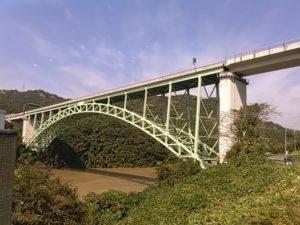 可児市の木曽川橋