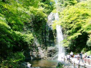 箕面市の箕面滝